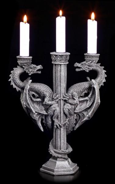 Kerzenständer - Drachen Altar