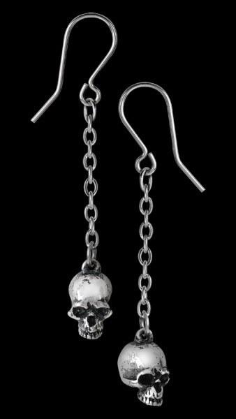 Alchemy Totenkopf Ohrringe - Deadskull