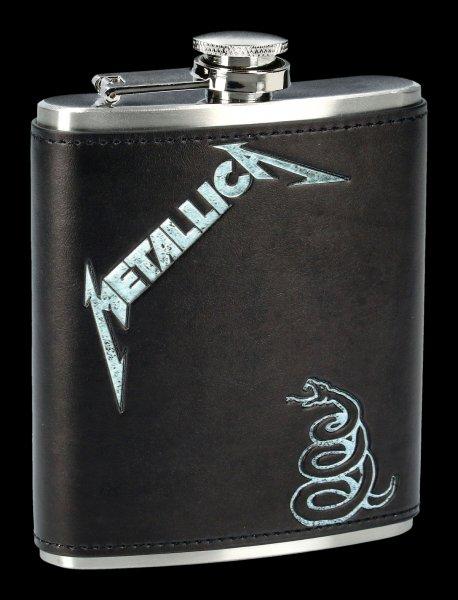 Metallica Hip Flask - Black Album