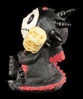 Furry Bones Figur - Black Scorchie