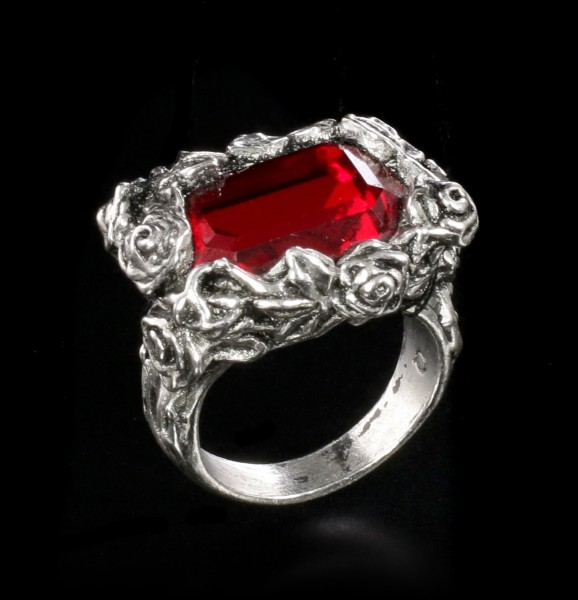 Alchemy Gothic - Blood Rose Ring