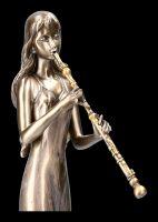 Musikerin Figur mit Klarinette