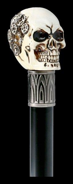 Swaggering Cane Skull - Clockwork Cranium