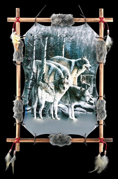 Wolf Ornament - Strength in Numbers
