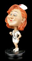 Funny Job Figurine - Bobblehead Nurse
