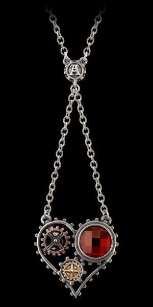 Alchemy Steampunk Halskette - Coeur Du Morteur