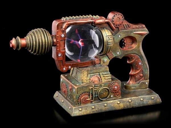 Steampunk Deko Pistole mit Plasmakugel
