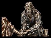Jesus Figur - Mandatum - Die Fußwaschung