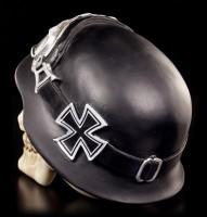 Totenkopf - Iron Cross mit Bikerhelm