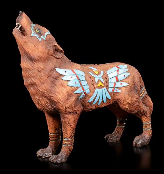 Wolf Spirit Figurine - Eagle