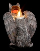 Tealight Holder - Fantasy Wolf with Wings