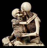 Skeleton Figurine - Love Never Dies - One Last Kiss