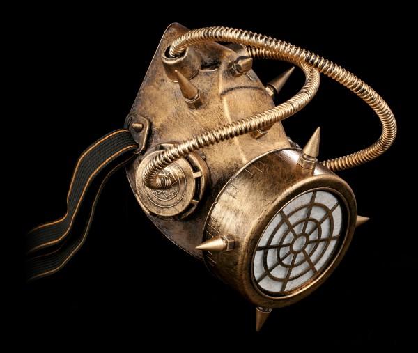 Steampunk Gas Mask - Contaminated Air