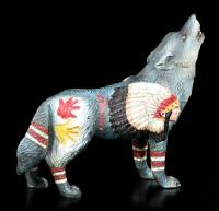 Wolf Spirit Figurine - Chief