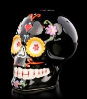Totenkopf Kerzenhalter - Sugar Carnival