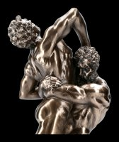 Herkules Figur im Kampf mit Antäus