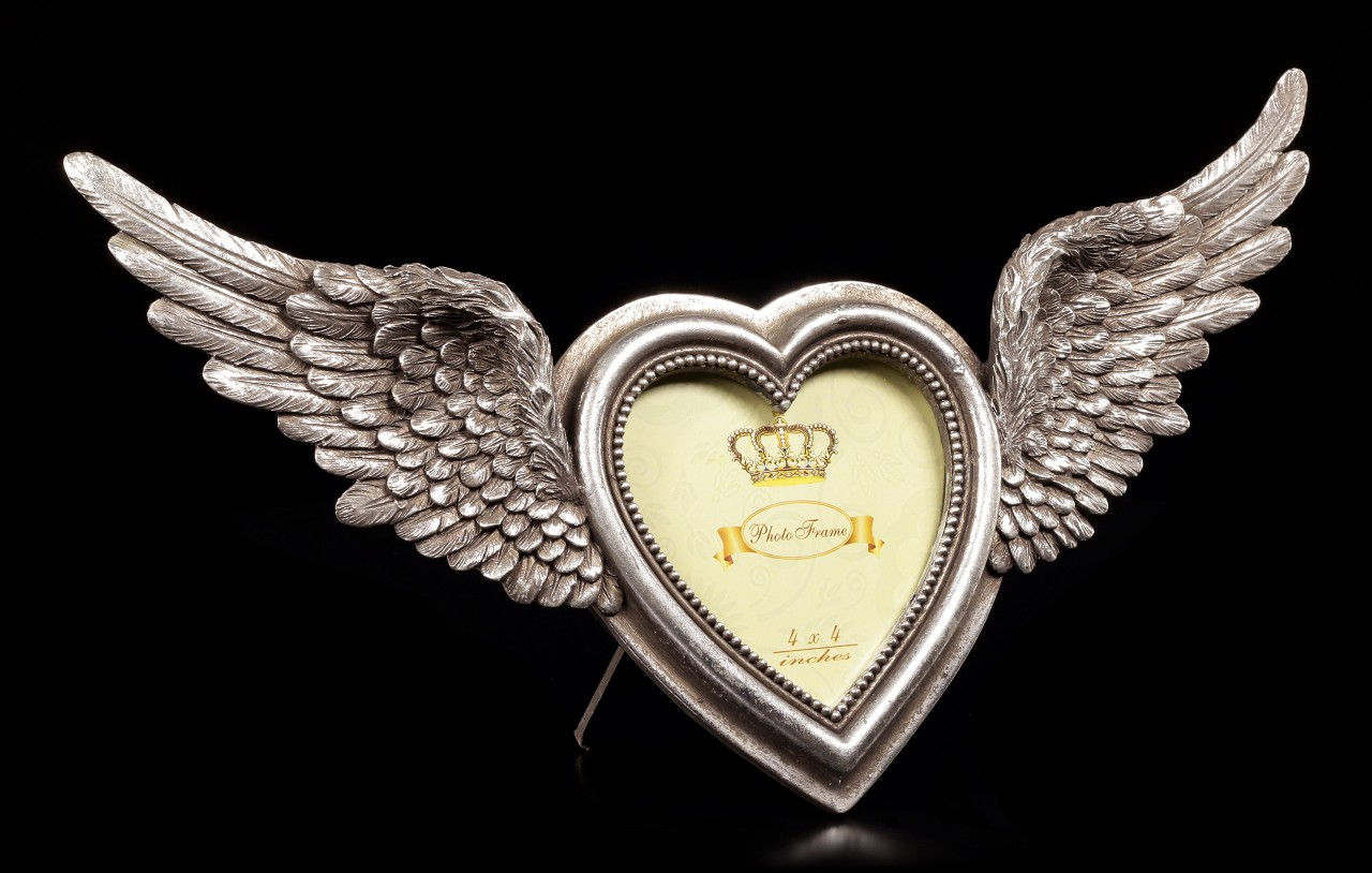 Alchemy Picture Frame - Winged Heart