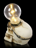 Steampunk Skull with LED - Light Minded