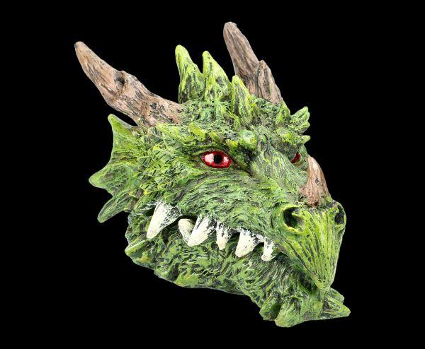 Schatulle - Grüner Drachenkopf