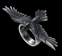 Alchemy Raben Ring - Black Consort