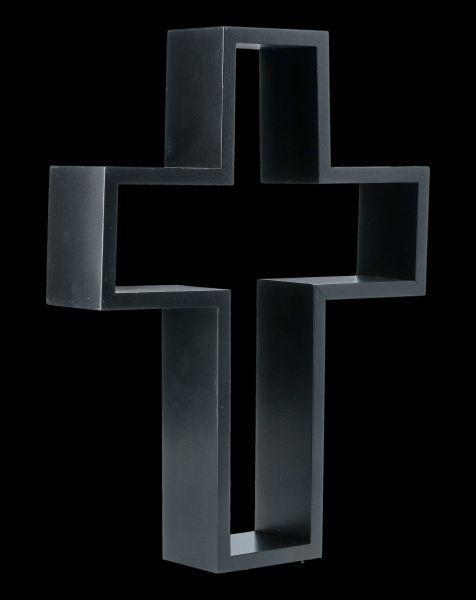 Wandregal Kreuz - Kruzifix