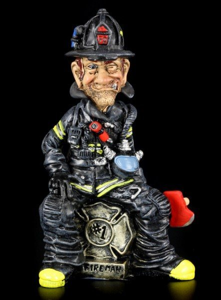 Firefighter - Funny Job Figurine