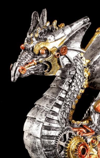 Steampunk Drachen Figur - Dracus Machina