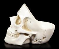 White Skull Bowl