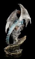 Drachen Figur - Vitru bewacht Kristall