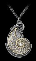 Alchemy Halskette - Fibonacci's Golden Spiral