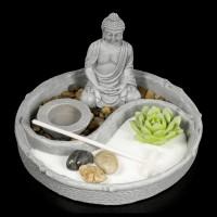 Zen Garten mit Buddha Figur - Garden of Tranquility