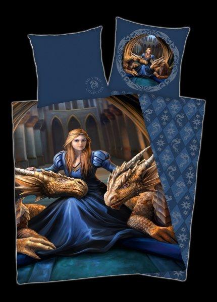 Anne Stokes Duvet Set - Dragons Fierce Loyalty