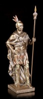 Indian Warrior Figurine with Spear