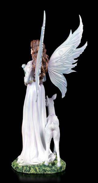 Elfen Figur - Lorie mit weißem Reh