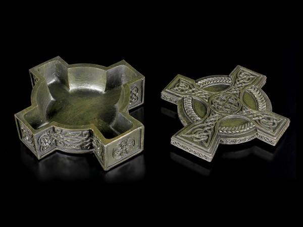 Schatulle - Keltisches Kreuz