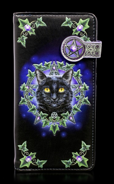 Embossed Purse with Cat - The Charmed One