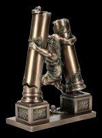 Samson Figur - Reißt Säulen nieder
