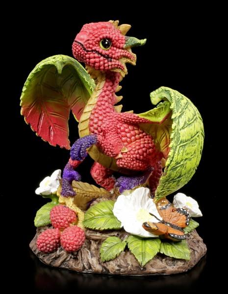 Drachen Figur - Raspberry Dragon by Stanley Morrison