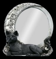 Table Mirror - Cat with Moon