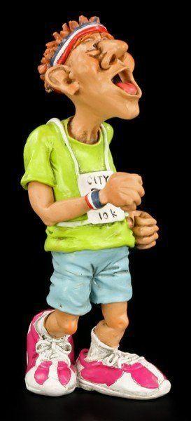 Marathonläufer - Funny Sports Figur