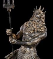 Poseidon Figurine with Trident