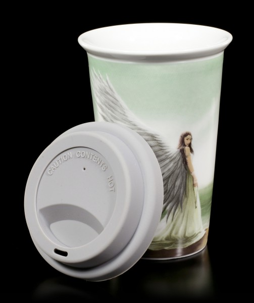 Ceramic Travel Mug - Angel Spirit Guide