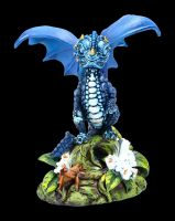 Dragon Figurine - Blueberry by Stanley Morrison