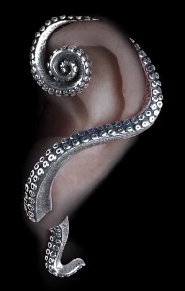 Kraken - Alchemy Gothic Earring