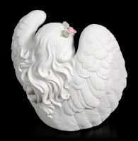 Tealight Holder - Girl Angel with Rosary