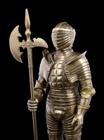 Italian Knight Armor - Niccolo Silva of Milan - bronzed