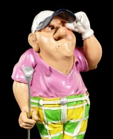 Golfspieler Figur - Achtung Ball - Fore!