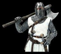 Ritter Figur - Templer mit Zweihandaxt