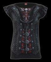 Damen T-Shirt Gothic - Gothess Wrap
