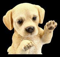 Hunde Figur - Labrador Welpe macht Männchen